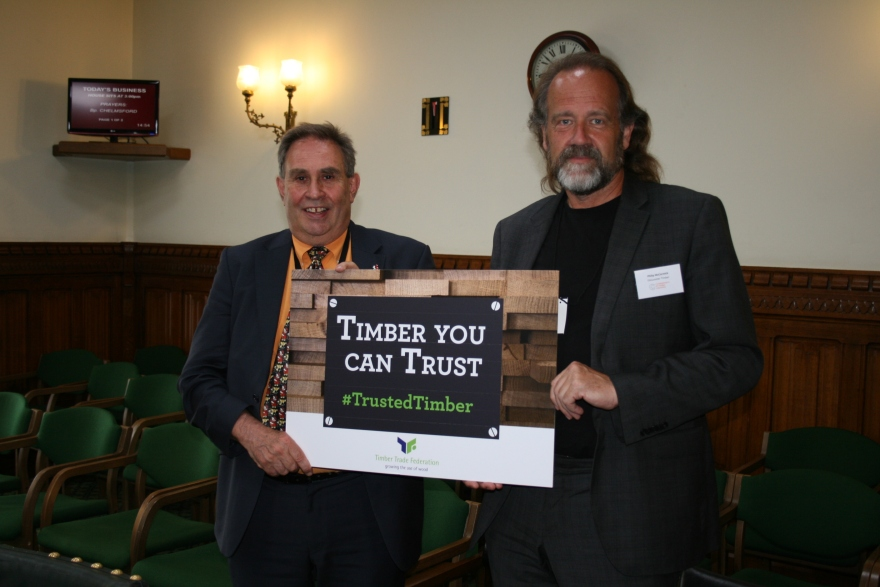 David Drew MP and Phil McCormick