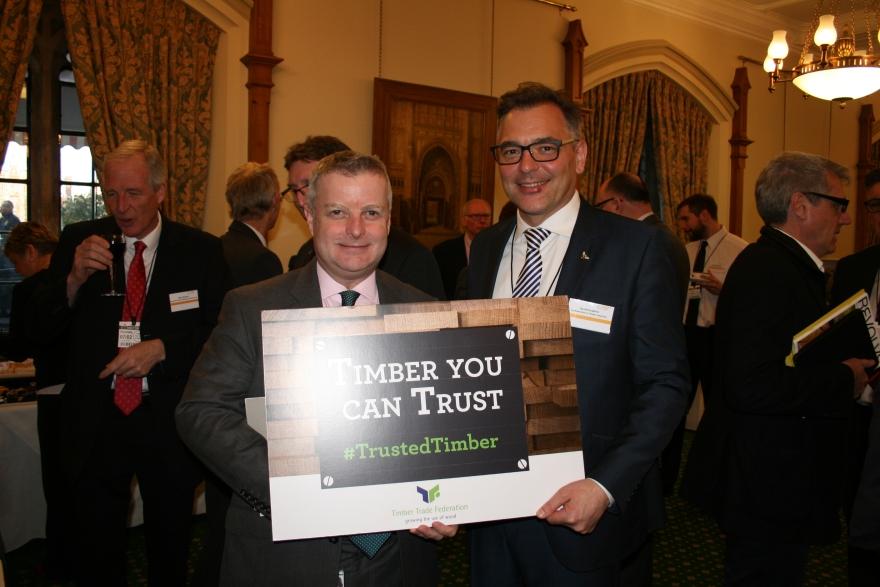 Chris Davies MP and David Hopkins