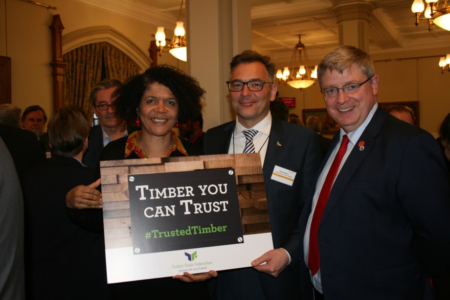 Chi Onwurah MP, David Hopkins, Martin Whitfield MP