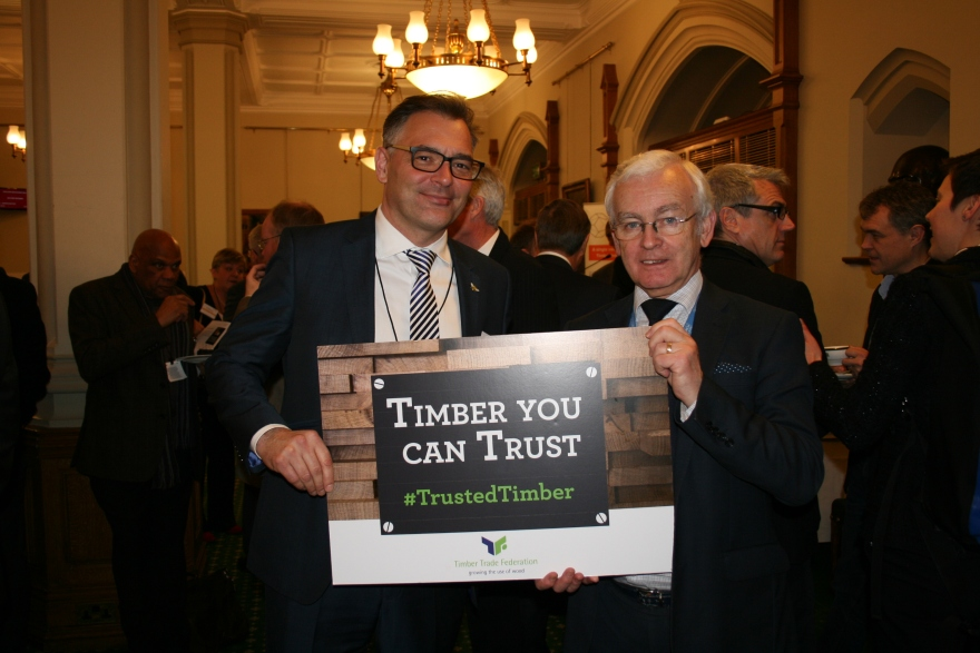 David Hopkins and Martin Vickers MP