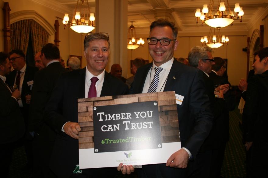 Paul Girvan MP and David Hopkins