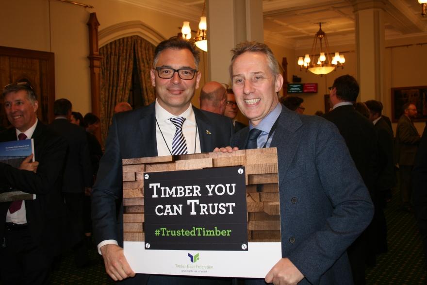 David Hopkins and Ian Paisley MP