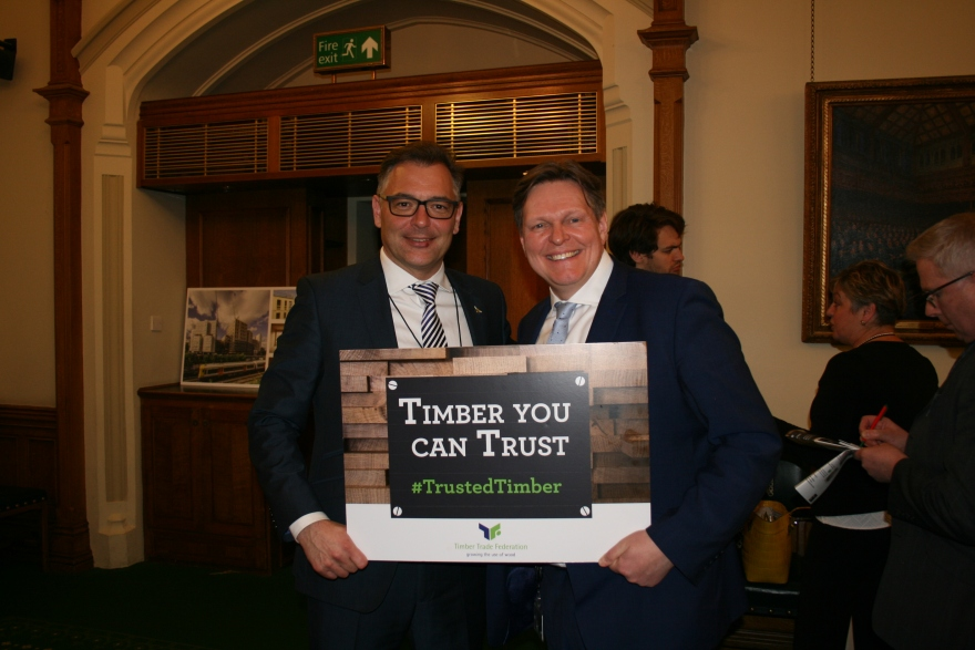 David Hopkins and Stephen Kerr MP